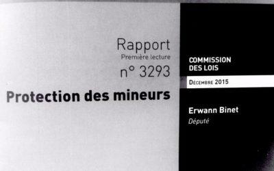 Le projet de loi «Villefontaine» pour la protection des enfants adopté à l'unanimité