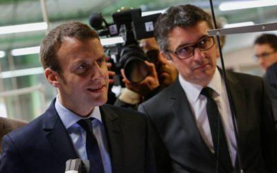 Emmanuel Macron à Pont-Evêque