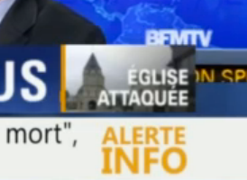 Ma réaction suite à l'attentat de Sain-Etienne-du-Rouvray