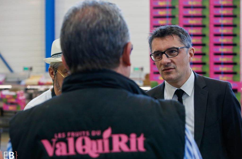 En visite à St Prim chez «Val Qui Rit»