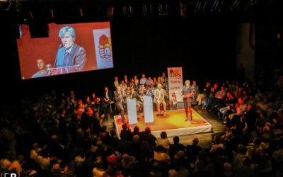 Najat Vallaud Belkacem et Stéphane Le Foll lancent l'année électorale en Isère
