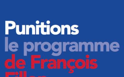 Le projet punitif de François Fillon en matière d'Éducation.