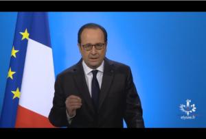 Annonce de François Hollande