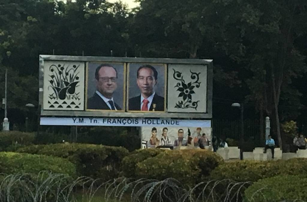 J'ai participé au dernier voyage officiel de François Hollande