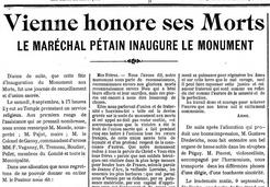 Dans le Panthéon national, Pétain doit demeurer invisible