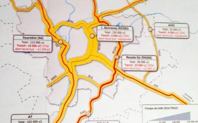 Séance de travail avec le Préfet de Région sur le déclassement A6-A7 à Lyon