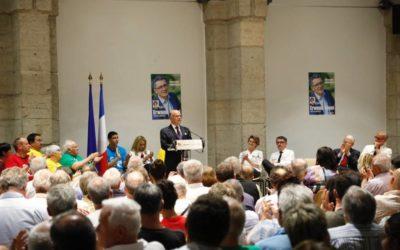 Retour sur notre meeting de campagne en présence de Bernard Cazeneuve