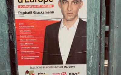 Dimanche j'appelle à voter pour Raphaël Glucksmann et la liste Envie d'Europe